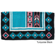 Tough-1 Cherokee Wool Saddle Blanket Black/Choc