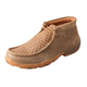 Twisted X Mens Basket Weave Driving Mocs
