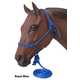 Tough-1 Mini Rope Tied Halter w/ 5 1/2' Ld Lg Red