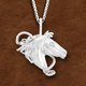 Kelly Herd Horse Head Necklace