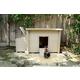 New Age Pet Urban Farm Tan Fontana Chicken Barn