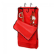 Tough-1 Hanging 3-Hook Tack Carrier Bag Brown Tool