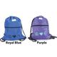 Lettia Collection Helmet Back Sack Purple