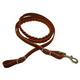 Western 3-Plaited Leather Contest Rein