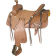 Billy Cook Saddlery Panhandle Rancher 17in Saddle