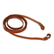 Western Laced Leather Roping Rein