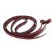Western Latigo Leather Loop Back Split Reins 5/8x7