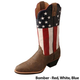 Twisted X Ladies VFW USA Western Boots 11B