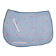 Equine Couture Stripe Whales AP Saddle Pad Pink