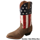 Twisted X Mens VFW USA Western Boot 14EE