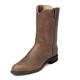Justin Mens Roper 10in Boots 12EE Black Kipskin