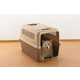 Richell Mobile Pet Carrier Brown Large