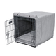 Bowsers Luxury Nickel Dog Crate Cover XXLarge