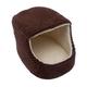 Iconic Pet Luxury Snugglez Cocoa Igloo Pet Bed LG