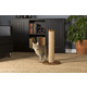 Kitty Power Paws Round Cat Scratching Post 33.75in