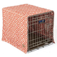 SnooZZy IKAT Ease Orange Dog Crate Cover