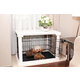 Merry Products Pet Cage w/White Crate Cover Large