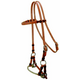 Reinsman Harness Leather Single Rope Side Pull