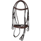 HDR Mono Crown Bridle w.Padded Wide Noseband Overs