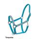 Abetta Jeweled Overlay NB Nylon Halter Turquoise