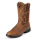 Justin Mens George Strait Boot 12EE Sunset Rage