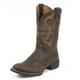 Justin Mens Stampede Cattleman Boots 12EE Brown