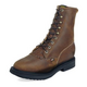 Justin Mens Double Comfort Lacer Work Boots 12EE A