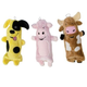 Outward Hound Bottle Buddies Dog Toy Pig