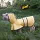 Fashion Pet Rainy Days Slicker Dog Coat