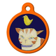 Kitty Close Up Cat ID Tag
