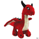 Mighty Toy Dragon Series Dog Toy Red