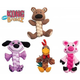KONG Pudge Braidz Dog Toy Medium/Large Bear