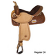 Circle Y Proven Rush Barrel Saddle Wide 17 Reg Oil