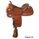 Circle Y XP Fargo Reiner Saddle Wide 17 Reg Oil