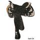 Circle Y Pyramid Arabian Show Saddle Reg 16 Lite