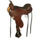 Circle Y Flex2 Alabama Trail Saddle Reg 17 Black