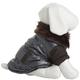 Pet Life Metallic Brown Ultra Fur Dog Jacket MD
