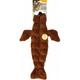 Skinneeez Stuffing Free Squeaker Dog Toy Seal