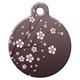 Asian Cherry Blossom Pet ID Tag