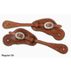 Circle Y Floral Tool Spur Straps Regular Oil