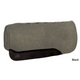 Circle Y Vented Gray Wool Pad 34x32 Black Leather