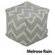 Jax and Bones Melrose Rain Premium Pouf Ottoman