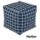 Jax and Bones Harbor Outdoor Pouf Ottomaman