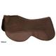 Circle Y Close Contact Brown Wool Pad