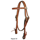 Circle Y Hand Tooled Browband Headstall Reg Oil
