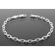 Vibershield Anchor Sterling Silver Bracelet