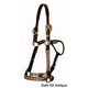 Circle Y Black Copper Filigree Show Halter Hrs Ant
