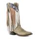 Roper Ladies Americana Fringe Snip Toe Boots