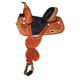 Circle Y Fischer Bling Med Horn Saddle