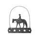 Equine Motif Glitter Ornament